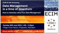 Data Management in a time of downturn - How to maximise value from Data Management